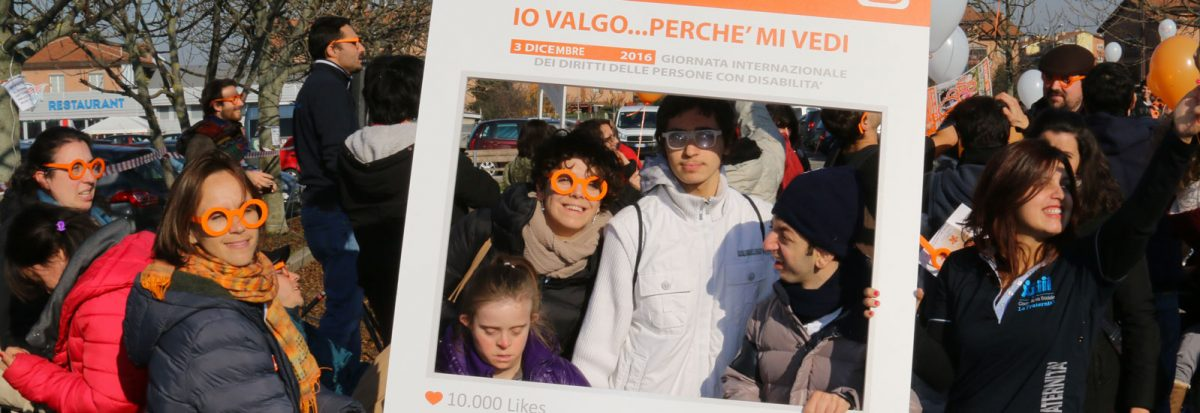 """Manifestazione """"Io Valgo"""" a Bologna"""