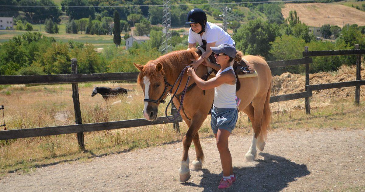 Attività assistita con il cavallo