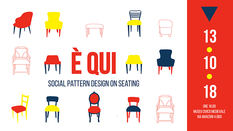 È QUI: SOCIAL PATTERN DESIGN ON SEATING