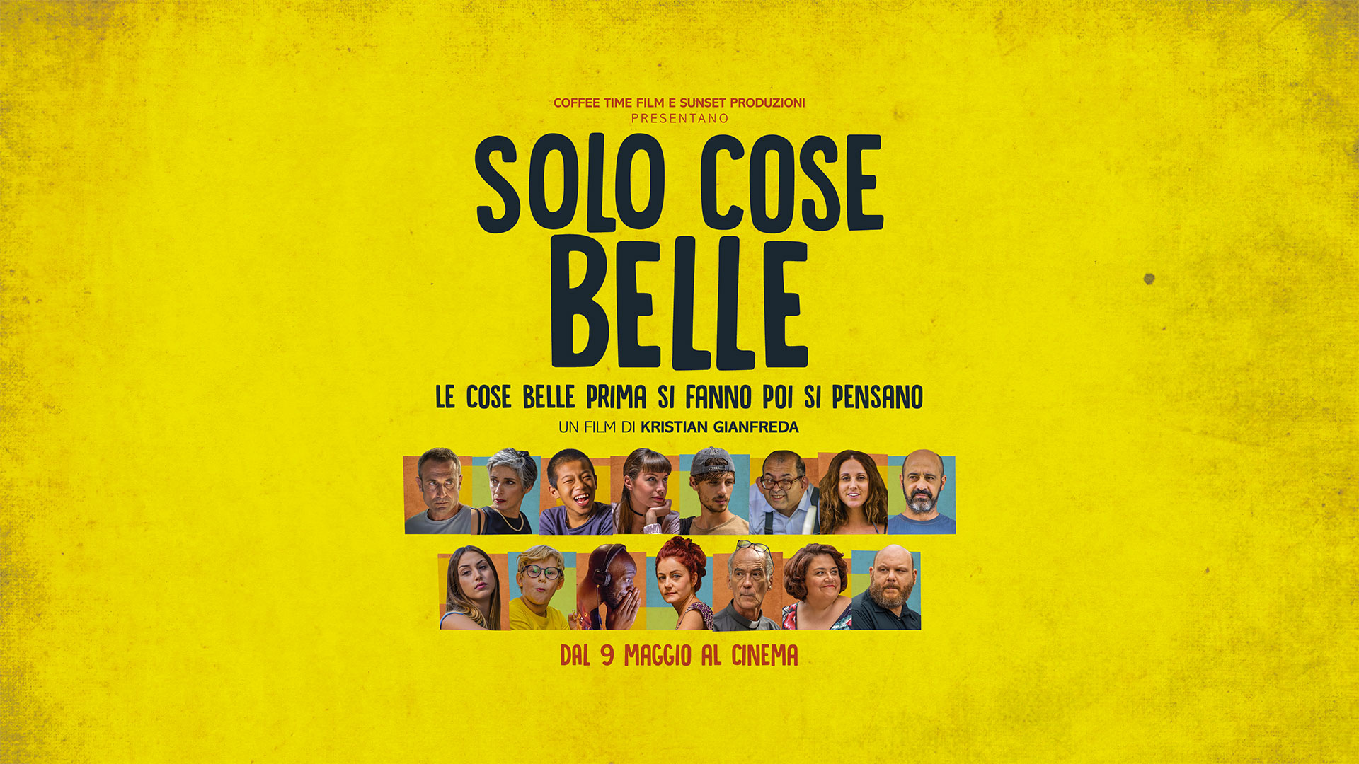 "AL CINEMA ""SOLO COSE BELLE"""